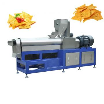 Fried Snacks Extruded Doritos Corn Chips Making Machine