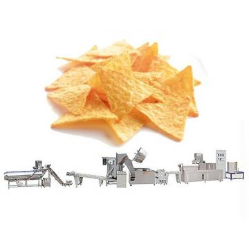 Twin-Screw Extrusion Deep Fried Nacho Corn Chips Frying Making Machinery
