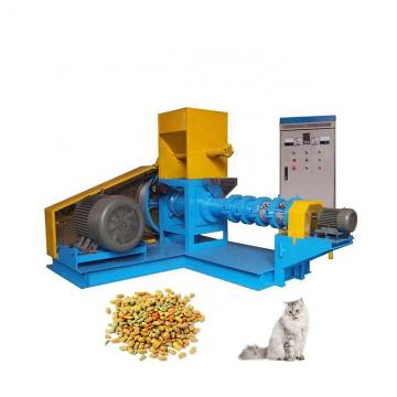 High Output Dry Dog Cat Fish Pet Food Snack Processing Machine