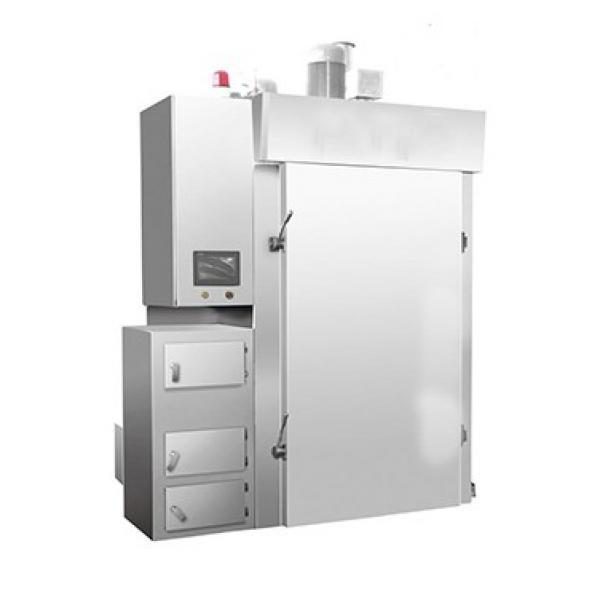 Electric Heating Steam Generating Sausage Meat Smoke House Machine