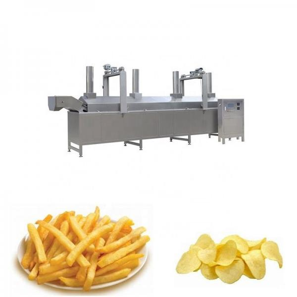 Chicken Air Fish Pellets Price of Potatoes Slanty Chips Pork Rinds Corn Frying Machine