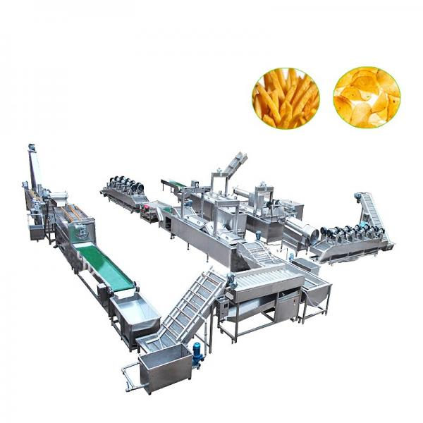 China Potato French Fries Processing Line Machine