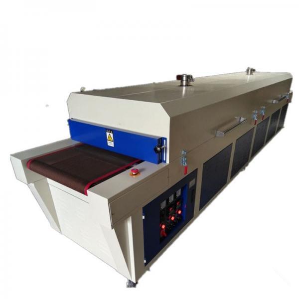 Conveyor System Chain Belt Pre-Heating Uniform Tunnel Dryer